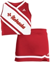 Adidas 2 Piece Nebraska  Cheer Set Nebraska Cornhuskers, Nebraska  Childrens, Huskers  Childrens, Nebraska  Shorts, Pants & Skirts, Huskers  Shorts, Pants & Skirts, Nebraska Adidas 2 Piece Nebraska  Cheer Set, Huskers Adidas 2 Piece Nebraska  Cheer Set