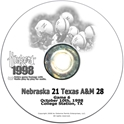 1998 Texas A&M Husker football, Nebraska cornhuskers merchandise, husker merchandise, nebraska merchandise, nebraska cornhuskers dvd, husker dvd, nebraska football dvd, nebraska cornhuskers videos, husker videos, nebraska football videos, husker game dvd, husker bowl game dvd, husker dvd subscription, nebraska cornhusker dvd subscription, husker football season on dvd, nebraska cornhuskers dvd box sets, husker dvd box sets, Nebraska Cornhuskers, 1998 Texas A&M