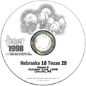 1998 Texas Husker football, Nebraska cornhuskers merchandise, husker merchandise, nebraska merchandise, nebraska cornhuskers dvd, husker dvd, nebraska football dvd, nebraska cornhuskers videos, husker videos, nebraska football videos, husker game dvd, husker bowl game dvd, husker dvd subscription, nebraska cornhusker dvd subscription, husker football season on dvd, nebraska cornhuskers dvd box sets, husker dvd box sets, Nebraska Cornhuskers, 1998 Texas