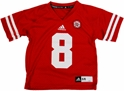Adidas 8 Childrens Replica Jersey Nebraska Cornhuskers, Nebraska Jerseys, Huskers Jerseys, Nebraska  Kids Jerseys, Huskers  Kids Jerseys, Nebraska Kids, Huskers Kids, Nebraska  Childrens, Huskers  Childrens, Nebraska 2013 Adidas #8 Childrens Replica Jersey, Huskers 2013 Adidas #8 Childrens Replica Jersey