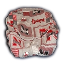 Gray Block Nebraska Car Seat Cover Nebraska Cornhuskers, Nebraska  Kids, Huskers  Kids, Nebraska  Infants, Huskers  Infants, Nebraska Vehicle, Huskers Vehicle, Nebraska Gray Block Car Seat Cover, Huskers Gray Block Car Seat Cover