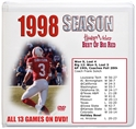 1998 Complete Season Box Set Husker football, Nebraska cornhuskers merchandise, husker merchandise, nebraska merchandise, nebraska cornhuskers dvd, husker dvd, nebraska football dvd, nebraska cornhuskers videos, husker videos, nebraska football videos, husker game dvd, husker bowl game dvd, husker dvd subscription, nebraska cornhusker dvd subscription, husker football season on dvd, nebraska cornhuskers dvd box sets, husker dvd box sets, Nebraska Cornhuskers, 1998 Complete Season on DVD