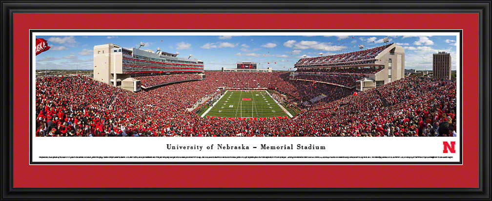 Deluxe Framed Balloons End Zone Panorama Nebraska Cornhuskers, Nebraska Collectibles, Huskers Collectibles, Nebraska Home & Office, Huskers Home & Office, Nebraska  Game Room & Big Red Room, Huskers  Game Room & Big Red Room, Nebraska  Office Den & Entry, Huskers  Office Den & Entry, Nebraska Wall Decor, Huskers Wall Decor, Nebraska  Framed Pieces, Huskers  Framed Pieces, Nebraska Deluxe Framed Panorama of New Stadium , Huskers Deluxe Framed Panorama of New Stadium