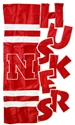 Huskers Sculpted House Flag Nebraska Cornhuskers, Nebraska  Flags & Windsocks, Huskers  Flags & Windsocks, Nebraska  Flags & Windsocks, Huskers  Flags & Windsocks, Nebraska Applique Sculpted House Flag, Huskers Applique Sculpted House Flag