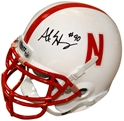 Alex Henery Autographed Husker Mini Helmet Nebraska Cornhuskers, husker football, nebraska cornhuskers merchandise, husker merchandise, nebraska merchandise, husker memorabilia, husker autographed, nebraska cornhuskers autographed, nebraska cornhuskers memorabilia, nebraska cornhuskers collectible, Alex Henery Autographed Mini