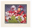 Osborne Collection - Frazier Print Nebraska Cornhuskers, husker football, nebraska cornhuskers merchandise, husker merchandise, nebraska merchandise, husker memorabilia, husker autographed, nebraska cornhuskers autographed, Tom Osborne autographed, Tom Osborne signed, Tom Osborne collectible, Tom Osborne, nebraska cornhuskers memorabilia, nebraska cornhuskers collectible, ON SALE  Frazier Print