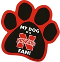 Nebraska Paw Magnet Nebraska Cornhuskers, husker football, nebraska cornhuskers merchandise, nebraska merchandise, husker merchandise, nebraska cornhuskers apparel, husker apparel, nebraska apparel, husker youth apparel, nebraska cornhuskers youth apparel, nebraska kids apparel, husker kids apparel, husker kids merchandise, nebraska cornhuskers kids merchandise, Nebraska Dog Paw Magnet