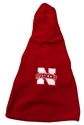 Nebraska Dog Fleece with Hood Nebraska Cornhuskers, Nebraska Pet Items, Huskers Pet Items, Nebraska Dog Fleece with Hood, Huskers Dog Fleece with Hood