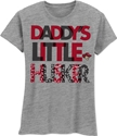 Daddy%27s Girl Husker Tee Nebraska Cornhuskers, Nebraska  Youth, Huskers  Youth, Nebraska  Kids, Huskers  Kids, Nebraska Girls Daddy%27s Husker Tee, Huskers Girls Daddy%27s Husker Tee