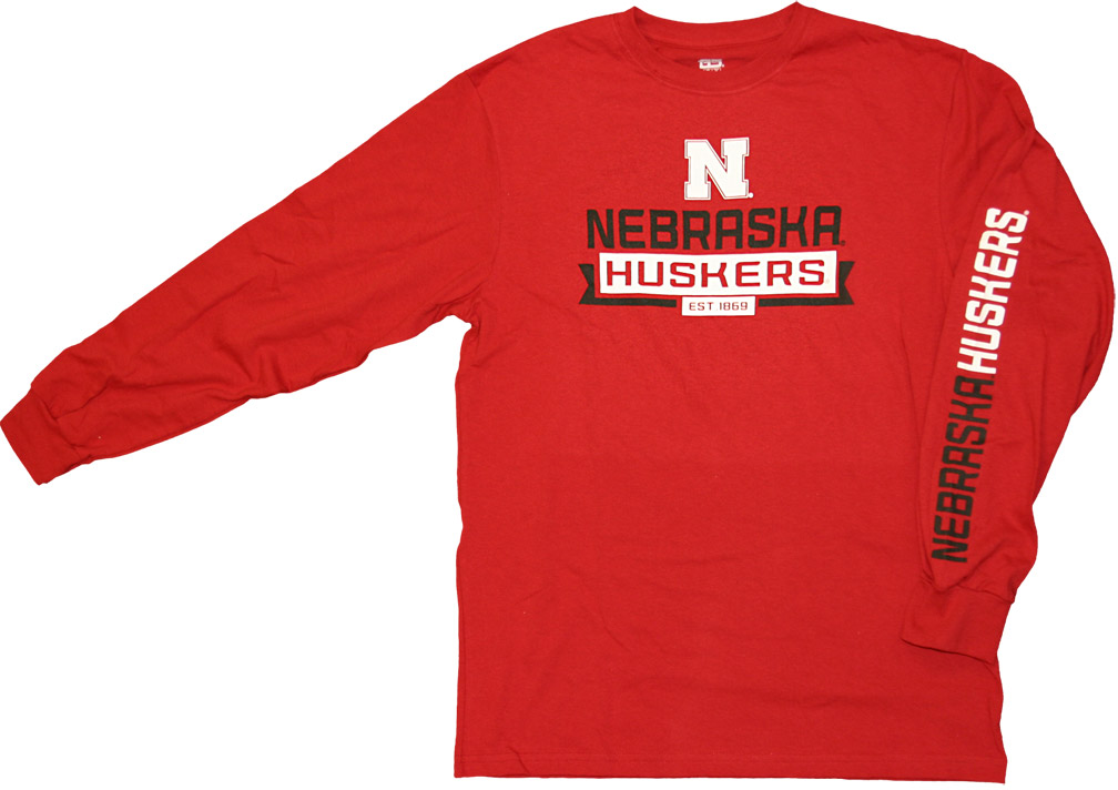 Balanced Printed T-shirt Red Nebraska Cornhuskers, husker football, nebraska cornhuskers merchandise, nebraska merchandise, husker merchandise, nebraska cornhuskers apparel, husker apparel, nebraska apparel, husker mens apparel, nebraska cornhuskers mens apparel, nebraska mens apparel, husker mens merchandise, nebraska cornhuskers mens merchandise, mens nebraska t shirt, mens husker t shirt, mens nebraska cornhusker t shirt,Balanced Printed T-shirt Red