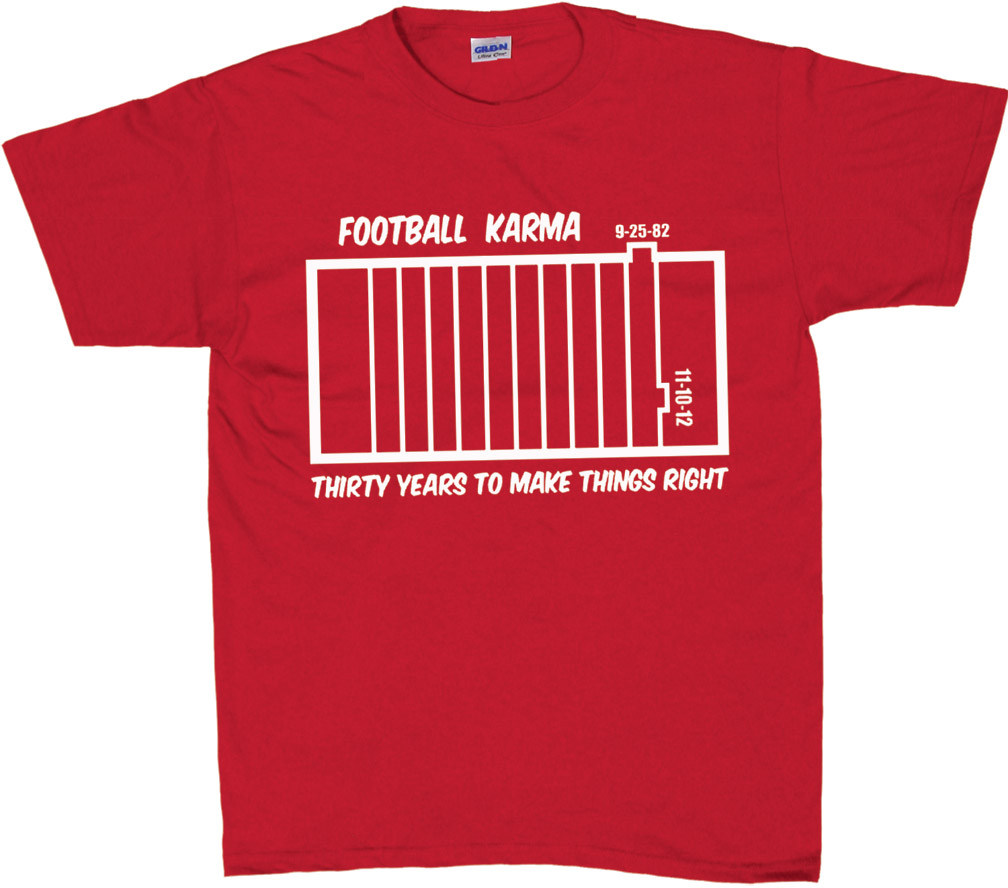 Football Karma T-Shirt - AT-56483