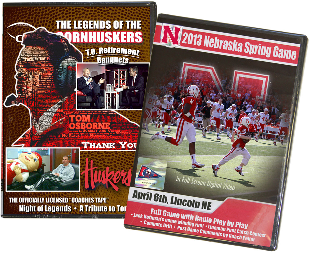 Proud To Be A Nebraskan DVD Bundle feat. 2013 Spring Game and TO Retirement Banquets DVD Bundle of 2013 Spring Game Featuring Jack's Run and Tom Osborne Retirement Banquets, Husker football, Nebraska cornhuskers merchandise, husker merchandise, nebraska merchandise, nebraska cornhuskers dvd, husker dvd, nebraska football dvd, nebraska cornhuskers videos, husker videos, nebraska football videos, husker game dvd, husker bowl game dvd, husker dvd subscription, nebraska cornhusker dvd subscription, husker football season on dvd, nebraska cornhuskers dvd box sets, husker dvd box sets, Nebraska Cornhuskers