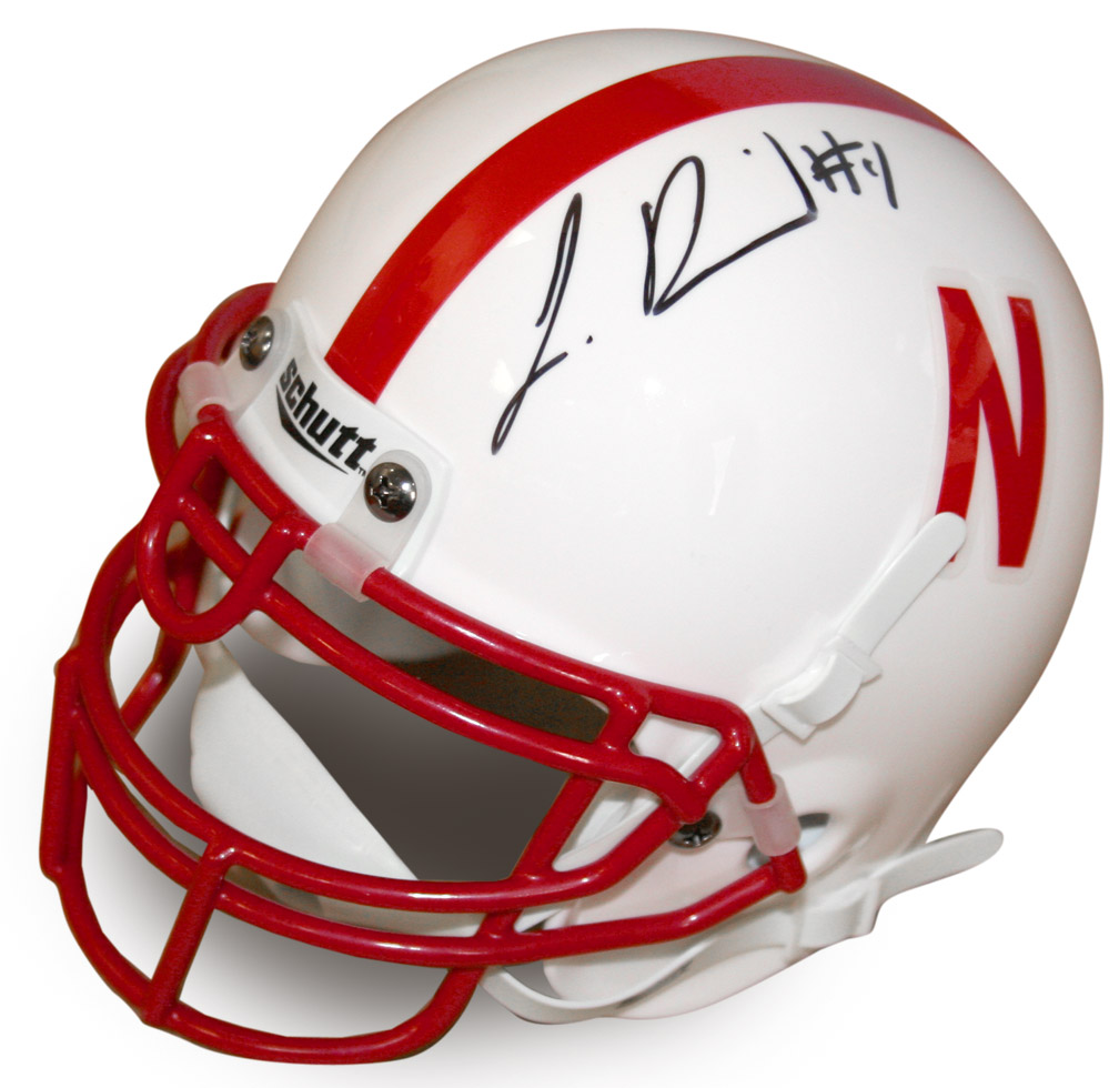 Autographed Lavonte David Mini Helmet Nebraska Cornhuskers, husker football, nebraska cornhuskers merchandise, husker merchandise, nebraska merchandise, husker memorabilia, husker autographed, nebraska cornhuskers autographed, nebraska cornhuskers memorabilia, nebraska cornhuskers collectible, Autographed Lavonte David Mini Helmet