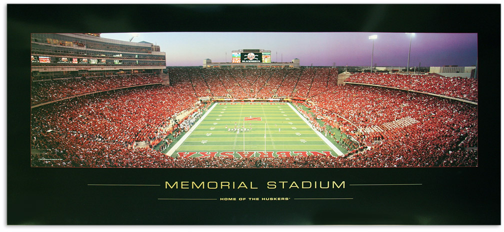 Home of the Huskers Print Nebraska Cornhuskers, Home of the Huskers Print
