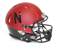 2014 Alternate Husker Authentic Speed Helmet