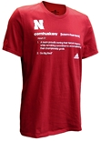 Adidas Cornhuskers Definition Tee