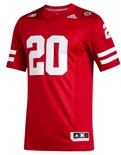 Adidas Huskers Premier 20 Home Jersey