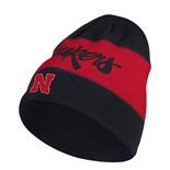 Adidas Official Coaches Nebraska Cuffed Beanie
