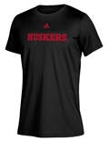 Adidas Official Huskers Locker Climalite Tee