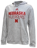 Adidas Team Issue Skinny Huskers Hoodie - Gray