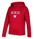 Adidas Womens Huskers Bar Pullover Hood