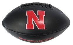 Black Matted Iron N Embossed Autograph Football