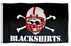 Blackshirts Appliqued Flag