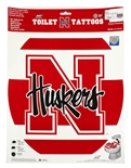 Classic N-Huskers Rounded Toilet Seat