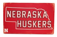 Cornhusker State Canvas Wrap
