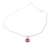 Cornhuskers State Necklace Charm