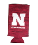 Cornhuskers Team Static Slim Can Coolie