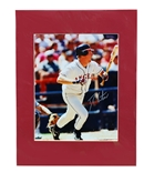 Darin Erstad Autographed Angels Action Print