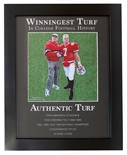 Frost N Osborne Senior-Day Winningest Turf Plaque