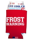 Frost Warning Can Cooler 12 oz