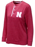 Husker Brooks Boyfriend Long Sleeve Tee