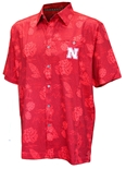 Husker Honolulu Camp Shirt