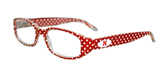 Husker Red Dot Reader Glasses