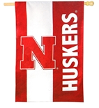 Huskers Big Banner Flag