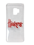 Huskers Clear Galaxy S9 Case