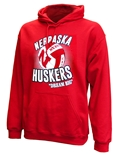 Huskers Dream Big Volleyball Hoodie