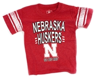 Huskers Go Big Red Newbies Tee
