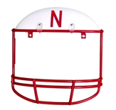 Huskers Helmet License Plate Cover
