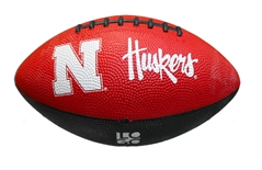 Huskers Jr Rubber Football