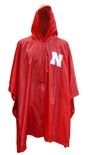 Huskers Mid-Weight Rain Poncho