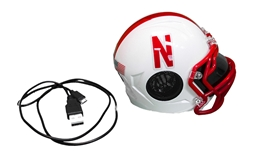 Huskers Mini Helmet Bluetooth Speaker