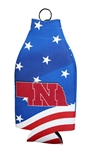 Huskers Patriotic Bottle Coolie