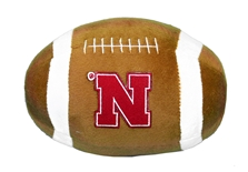 Huskers Plush Football with Iron N