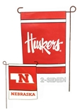 Huskers State Garden Flag