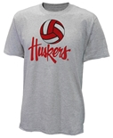 Huskers Volleyball Tee
