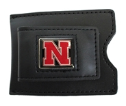 Iron N Leather Money Clip Card Case